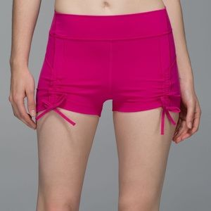 Lululemon Liberty Short Jewelled Magenta Shorts